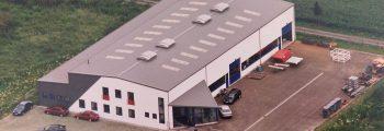Umzug in das neu errichtete Firmengebäude in Untermaßfeld